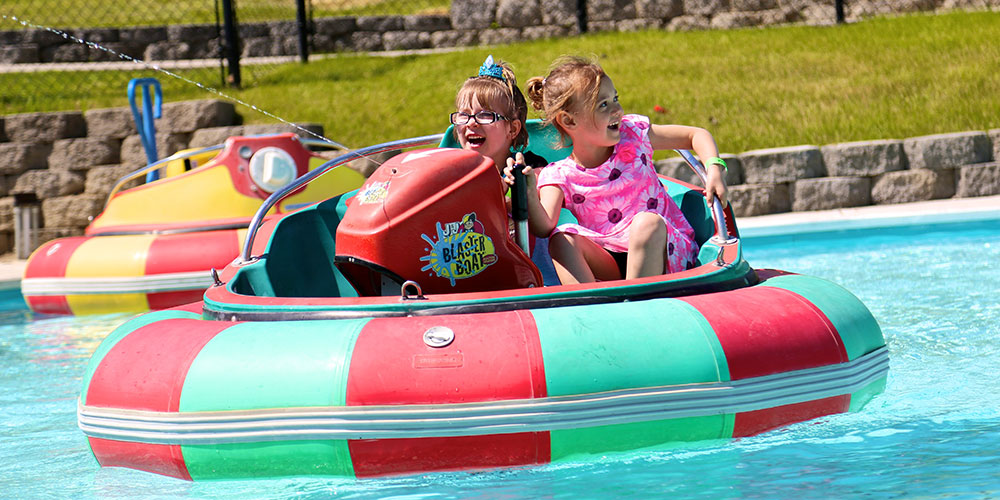 Bumper Boats Wonderland Fun Center Spokane